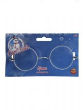 Santa Wire Rimmed Glasses